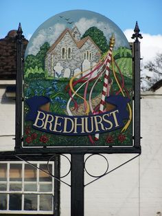 English Village, Place Names, Decorative Signs, Name Signs, Amazing Architecture, Ceilings, Clocks, Britain, Om