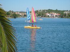 Quinta do Lago Watersports Lake via http://www.quintadolagoluxuryvilla.com