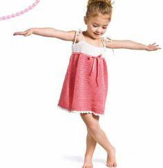 Cute little crochet dress