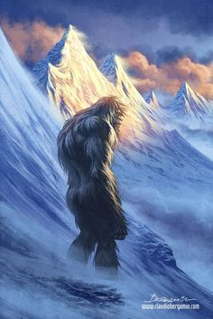 The Yeti by ClaudioBergamin.deviantart.com on @DeviantArt