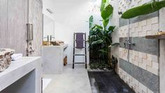 Kamar mandi dalam di villa mana
