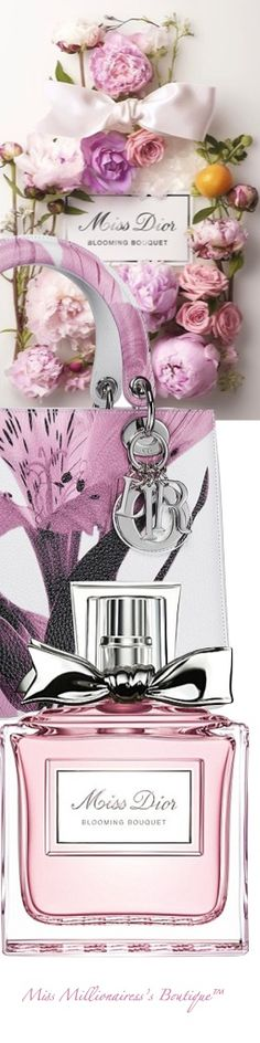 Miss Dior Blooming Bouquet and Lady Dior Leather Bag