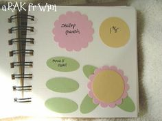 Tutorials To Share: Creative Art Punch Book Paper Punch Art, Punch Art Cards, Daisy Party, Scrapbook Pages, Scrapbooking, Flower Cards, Greeting Cards Handmade, Paper Piecing, Creative Art