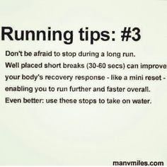 Running tips @Mercedes Brink  - You do this, it's good for running! Thanks for the great run today