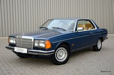 german-cars-after-1945 • 1982 Mercedes 280 CE...