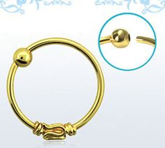 20g-0-8mm-Balinese-Wire-Design-18k-Gold-Plated-925-Sterling-Silver-Nose-Hoop