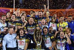 Heartbreak for Broncos as Cowboys land maiden title Footy Jokes, National Rugby League, Brisbane Broncos, Best Football Players, Great Team, Byron Bay, Cowboys, Victorious, Champion