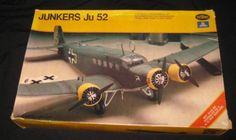 Testors/Italeri Junkers Ju 52 Transport Model Kit #869