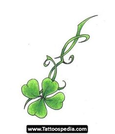 Shamrock,want this as a tattoo cause I am Irish, to the core!