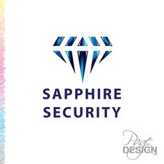 Logo design for Sapphire Security, Rotorua, NZ Dessert Logo, Cool Photos, Beautiful Pictures, Gothic Home Decor, Gothic House, Home Decor Signs, Page Design, In The Heights, Sapphire