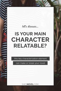 Creating a relatable main character is the key to writing a story that will hook your readers in. But what makes your hero or heroine relatable? Click through to discover the answer and some killer writing tips!