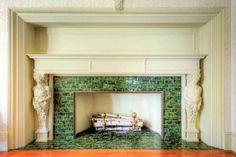 """Apartment # 2 – Billiards Room Fireplace """