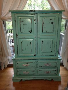Merveilleux Green Plasma TV Armoire | Products I Love | Pinterest | Tv Armoire, Plasma  Tv And Armoires