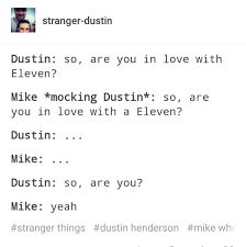 Mike loves Eleven