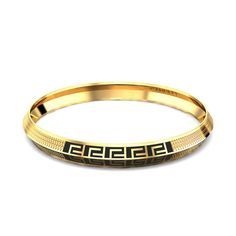 This piece of jewellery is a classic gold kada with a round, smooth edge and a precision finish to add elegance to its look. It is expensive and rich in 35 gms gold. #menskada #goldkada #men #mensjewellery #jewelleryformen #goldjewellery
