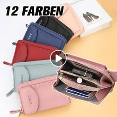 FEATURES Designed to hold cell phones, money, cards and other small things. You can simply. Design Simples, Toe Socks, Wallets For Women, Comfortable Shoes, Korean Fashion, Shoulder Strap, Zip Around Wallet, Smartphone, Gift Ideas