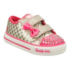 Skechers® Twinkle Toes Shuffles Sweet Steps  Girls Sneakers - Toddler  found at @JCPenney