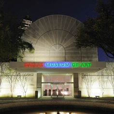The Dallas Museum of Art moved from Fair Park to its current building in 1984 to serve as an anchor for the newly created downtown Dallas Arts District.