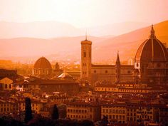 Florence, Italy. I've been there but I would LOVE to go back!