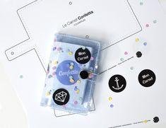 Le Carnet Confettis (DIY + free printable) - Sanglota.com