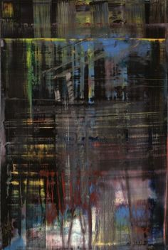 Gerhard Richter I have the exact painting process as him. New European Painting, Gerhard Richter Painting, Abstract Expressionism, Abstract Art, To Infinity And Beyond, Claude Monet, Museum Of Modern Art, Les Oeuvres, Amazing Art