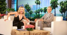Kate Hudson appeared on 'The Ellen DeGeneres Show' on Monday, Feb. 15, where she discussed her interesting love life with the longtime talk show host