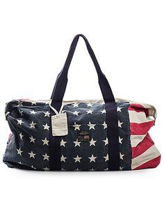 Ralph Lauren American Flag Bag