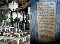 Tablescape by Monica Dart on SBB   Beach Wedding Table Decor   SouthBound Bride #beachwedding