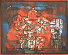 Chinese porcelain - Paul Klee Completion Date: 1940 Style: Surrealism Period: Late Works Genre: still life Dimensions: 44 x 46 cm Gallery: Collection Mr. Klimt, Rembrandt, Paul Klee Art, Art Painting Gallery, Abstract Nature, Kandinsky, Famous Artists, Art For Sale, Canvas Art Prints