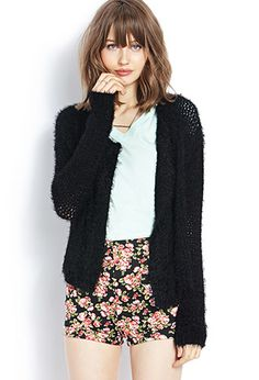 Must-Have Fuzzy Cardigan | FOREVER21 - 2000069533