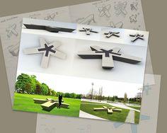 park bench design - Bee Flow - by silvanuno.com