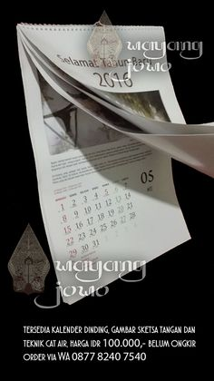 kalender dinding/ wall calendar