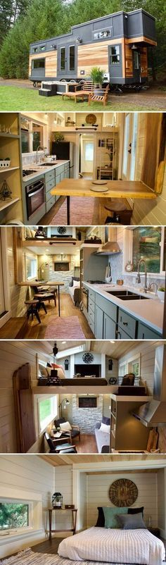 The Big Outdoors Tiny Home from Tiny Heirloom #homeimprovementgrants,