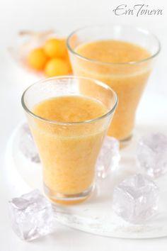 Смути с райска ябълка * Persimmon smoothie