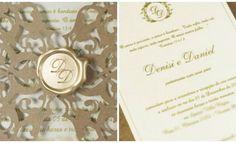 5 ideais de convites de luxo para casamento