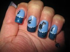 something blue - Nail Art Gallery nailartgallery.nailsmag.com by NAILS Magazine nailsmag.com