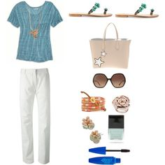 """Summer Chic Outfit"" by hockeyliz-x on Polyvore"