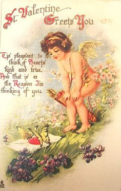Magic Moonlight Free Images: Vintage Valentine Cards!