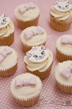I want this at my next #birthday! #Aristocats #cupcakes