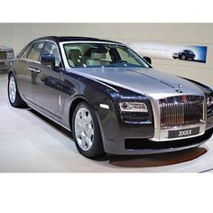 Rolls Royce Ghost Sexy, Sleek and Luxurious #2013