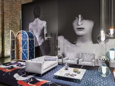 Moooi exhibition during during Salone del Mobile 2016