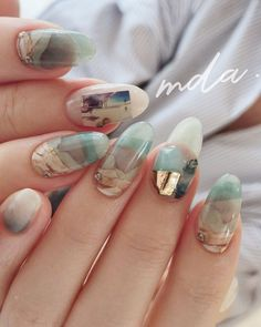 Just boho nails love.