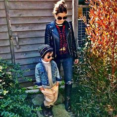 The 5-Year-Old Boy Who's Become an Instagram Style Icon - The Cut #sunanddotter