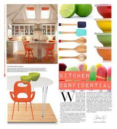 """Dream Kitchen"" by milica1940 ❤ liked on Polyvore featuring interior, interiors, interior design, home, home decor, interior decorating, Zoku, Fiesta, Suki Cheema and Umbra"