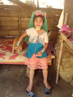 One of Kharen kids