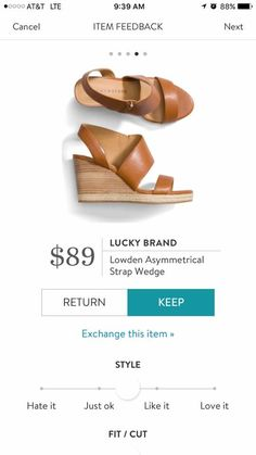 I would love to see these in my box as well! These shoes are the type of wedges that I have been looking for this summer!