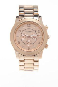Akribos XXIV Quartz Multifunction Fashion Bracelet Watch