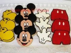 Mickie mouse cookies