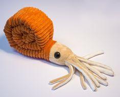 Ammonoid Plushie, A Cuddly New Stuffed Cephalopod Paleozoic Pal