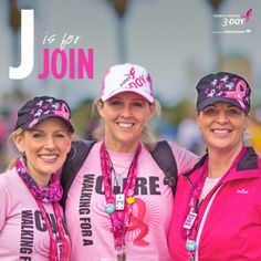 Next to the Susan G. Komen 3-Day® coaches, a team is the best support system you can have as you fundraise, train and walk all 60 miles on the road to end breast cancer forever. Whether you want to form a team, join a team or grow the team you already have, being a part of a team is always rewarding.